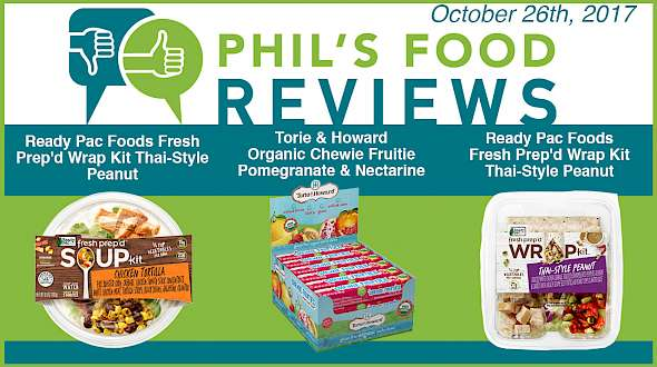 Phil's Food Reviews for October 26th, 2017