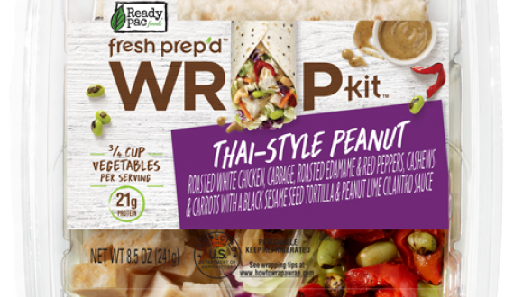 Ready Pac Foods Fresh Prep'd Wrap Kit Thai-Style Peanut