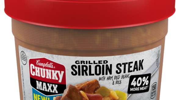 Campbells Chunky MAXX Grilled Sirloin Steak