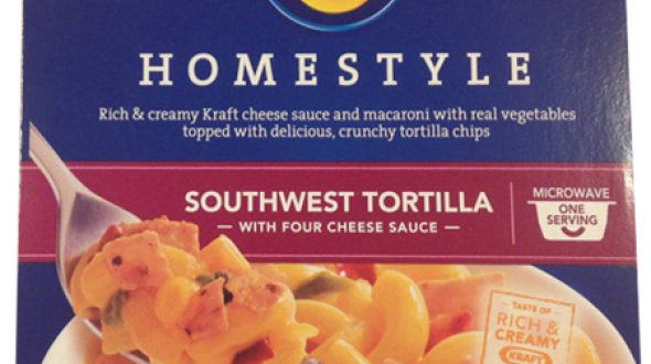 Kraft Macaroni & Cheese Dinner Southwest Tortilla with Four Cheese Sauce