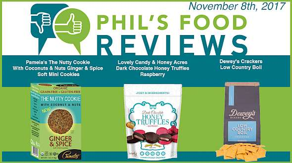 Phil's Food Reviews for November 8th, 2017