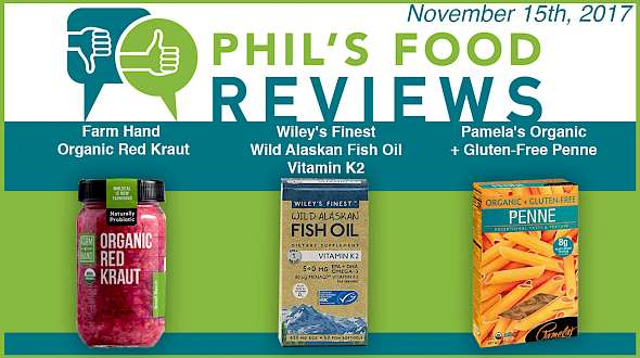 Phil's Food Reviews for November 15th, 2017