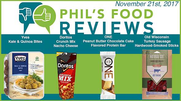 Phil's Food Reviews for November 21st, 2017