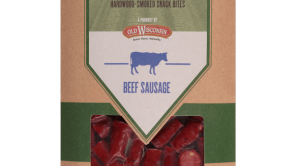Old Wisconsin Natural Cut Turkey Sausage Hardwood-Smoked Snack Sticks