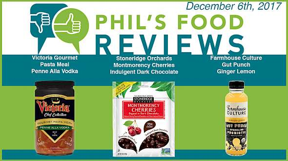 Phil's Food Reviews for December 6th, 2017