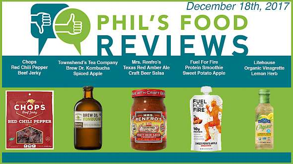 Phil's Food Reviews for December 18th, 2017