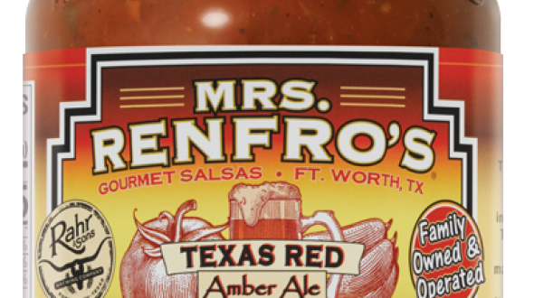 Mrs. Renfro's Texas Red Amber Ale Craft Beer Salsa