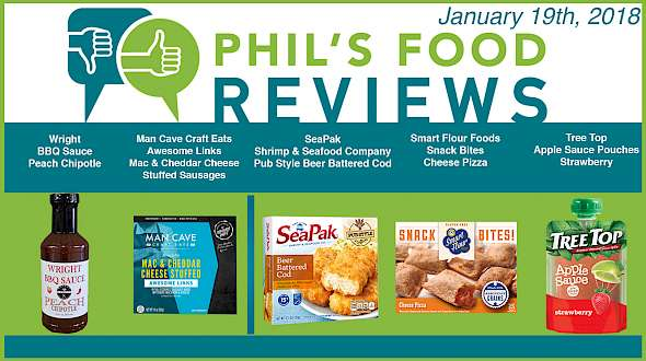 Phil's Food Reviews for January 19th, 2018