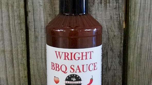 Wright BBQ Sauce Peach Chipotle