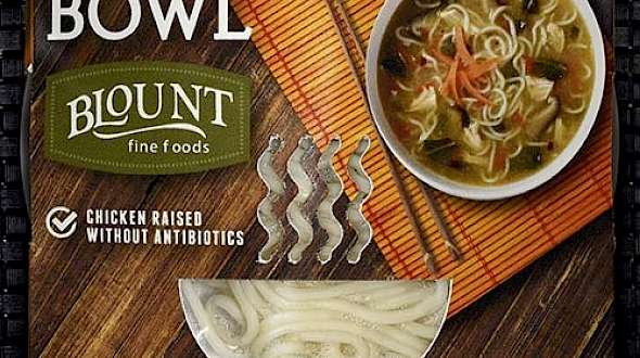Blount Fine Foods Chicken Ramen Bowl