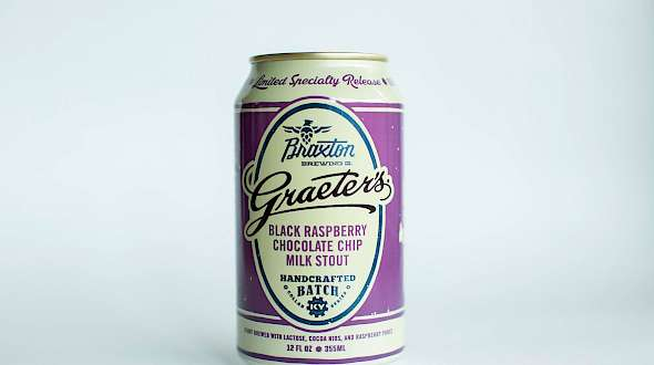 Braxton Brewing Co. Graeter's Black Raspberry Chocolate Chip Milk Stout