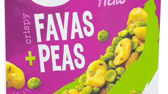 The Good Bean Crispy Favas and Peas Balsamic Herb