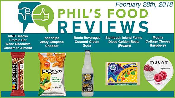 Phil's Food Reviews for February 28th, 2018