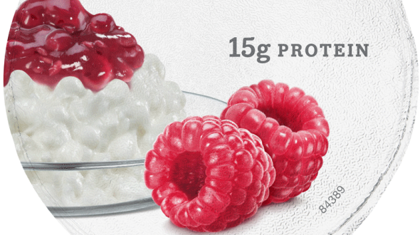 Muuna Cottage Cheese Raspberry