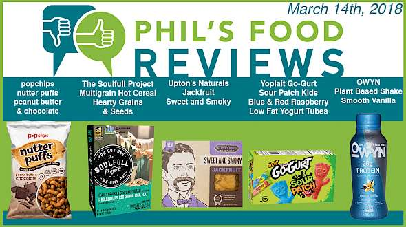 Phil's Food Reviews for March 14th, 2018