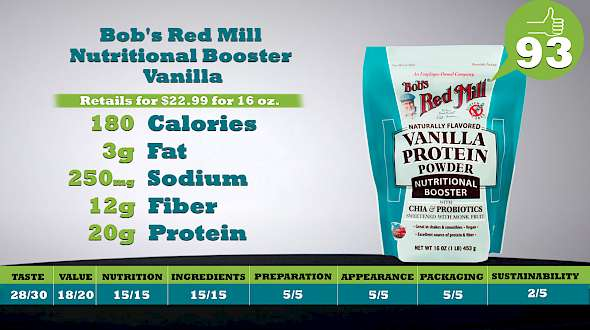 Bob's Red Mill Nutritional Booster Vanilla