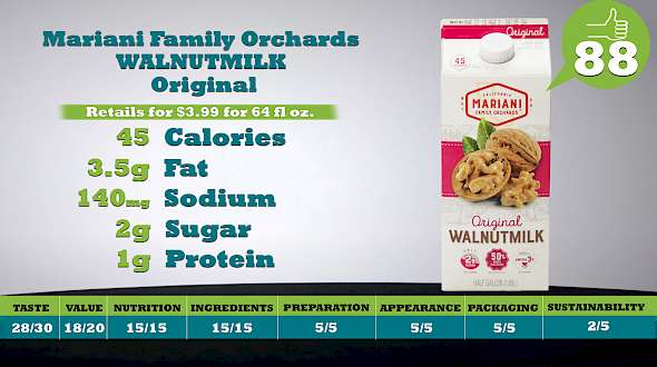 Mariani Family Orchards WALNUTMILK Original