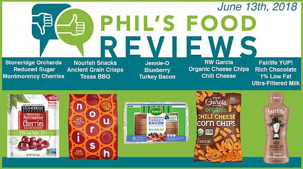 Phil's Food Reviews for June 13th, 2018