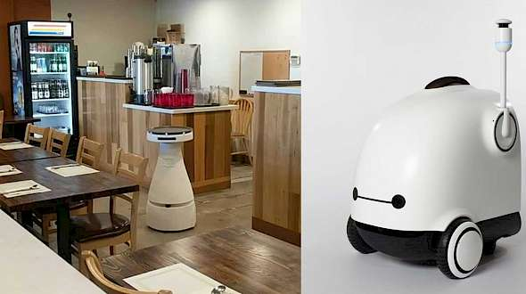 A Restaurant Robot Coming To A Food Mall Near You
