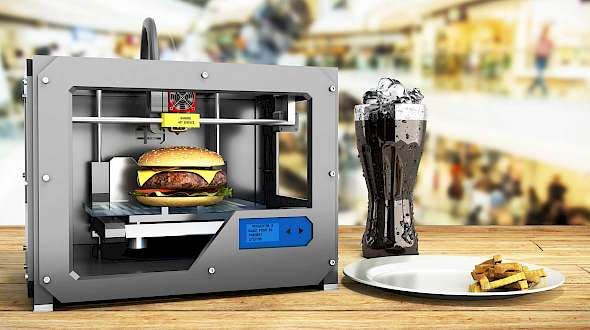 Another Reason To Advance 3D Printers To Make Food