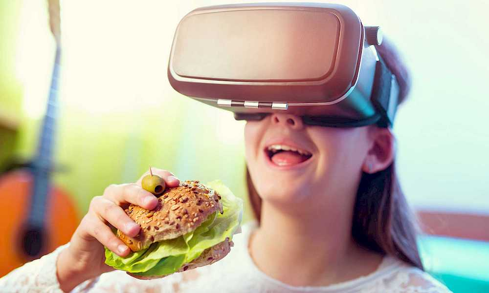 Virtual Food May Be The Next Big Thing For Fast Food