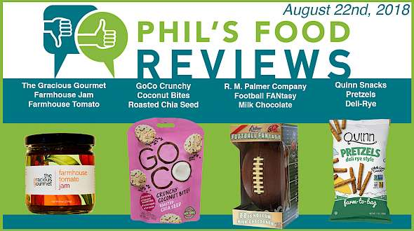 Phil's Food Reviews for Wednesday, August 22nd, 2018