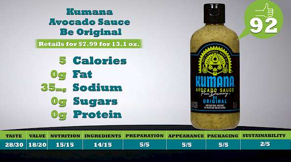 Kumana Avocado Sauce Be Original