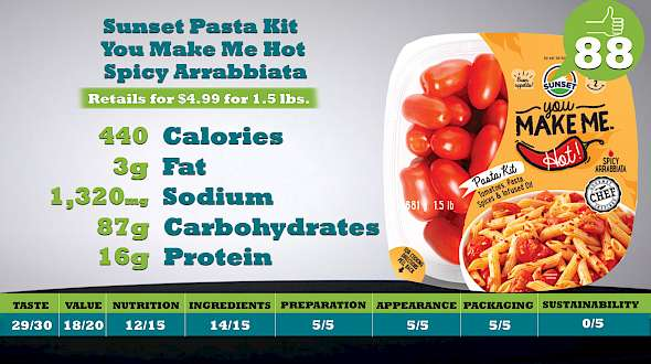 Sunset Pasta Kit You Make Me Hot - Spicy Arrabbiata