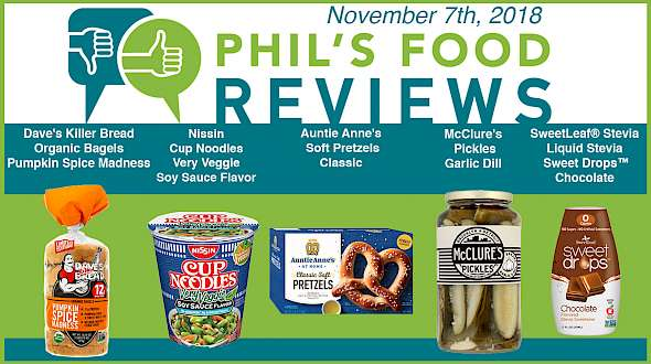 Phil's Food Reviews for November 7th, 2018