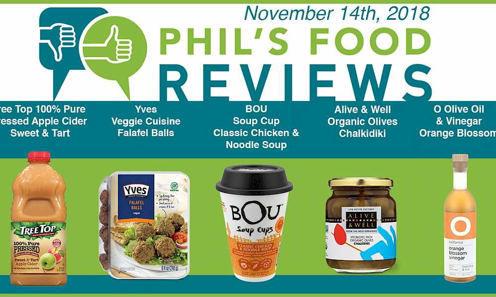 Phil's Food Reviews for November 14th, 2018