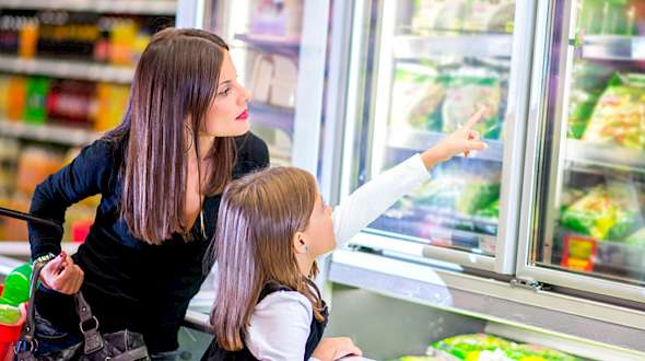 The Frozen Food Aisle Goes Digital