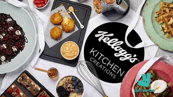 Kellogg's and Deliveroo's Partnership Signals a New Era in Food
