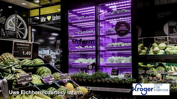 Grocery Micro-farms Take Off