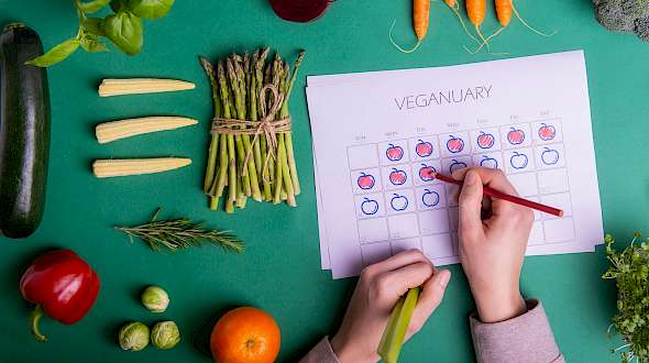 In the UK, Veganuary is a Thing