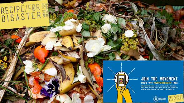 #RecipeForDisaster Is A New Campaign To Reduce Waste