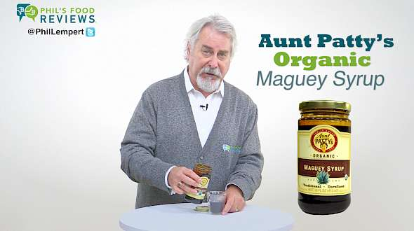Aunt Patty's Organic Maguey Syrup