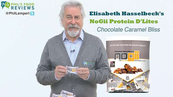 Elisabeth Hasselbeck's NoGii Protein D'Lites Chocolate Caramel Bliss
