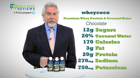 wheycoco Premium Whey Protein & Coconut Water chocolate