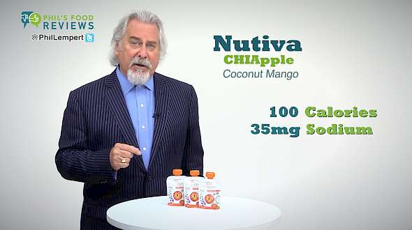 Nutiva CHIApple Chia Seeds and Fruit, Coconut Mango