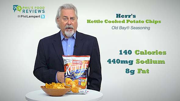 Herr's Kettle Cooked Potato Chips Old Bay® Seasoning